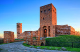 Medieval castle at dusk.HDR-high dynamic range - 63656420