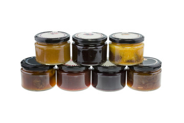 Selection of Jams - Stock Image