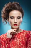 Beauty Portrait. Perfect Fresh Skin. Pure Beauty Model