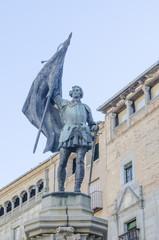 Statue of Juan Bravo
