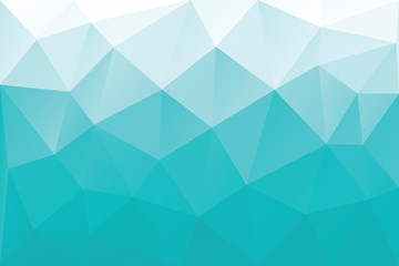 Cyan triangles