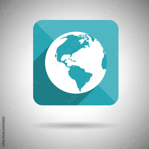 Cloud Icon Symbol Flat design