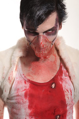Zombie Mad man Blood