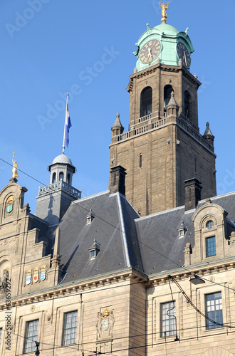 Town hall in Rotterdam, Netherlands