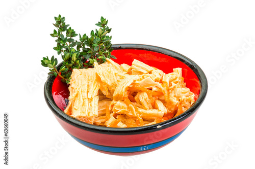 Chinese or korean Yuba (tofu bamboo)