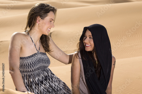 Friendship in the desert