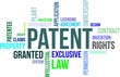 word cloud - patent