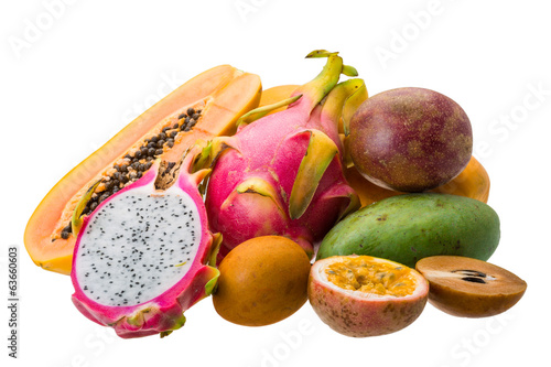 Thai fruits