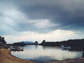 sea landscape in Koh Lanta island, Thailand