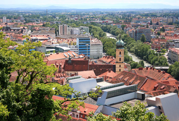 Avstriya.Grats - the capital of Styria.