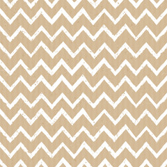 Seamless Cardboard Paper Chevron Background