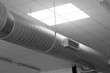 metal tube for the air-conditioning of a large industrial comple