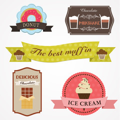 Logos encarts gourmandises
