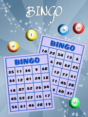 illustration of bingo