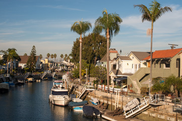 Naples canals in long beach, California