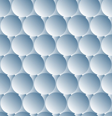 3d vector seamless background.