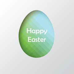 Vector  easter background.