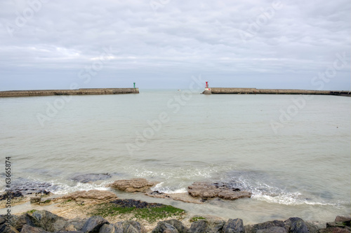 France, Port en Bessin