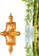 Symbolique zen : Bouddha, bambou et lotus