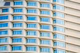 Many windows of hotel accommodation poster