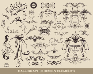 retro elements for your design
