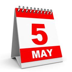 Calendar. 5 May.