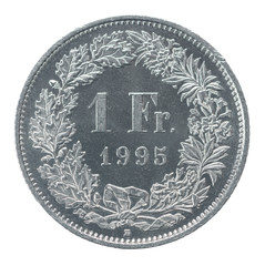 one francs