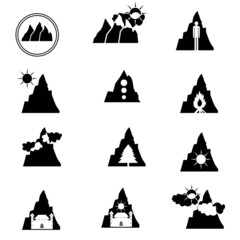 Logos mountain