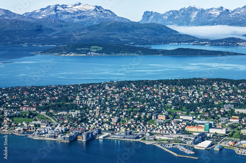 Norway: Tromso - town beyond Arctic Circle
