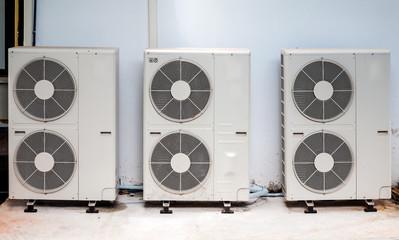Triple compressor unit