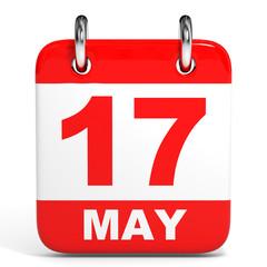 Calendar. 17 May.