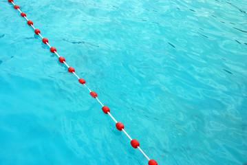 Schwimmbad Absperrband