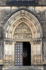Main door of the cathedral