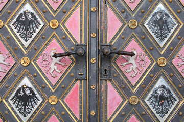 Part of door of the cathedral