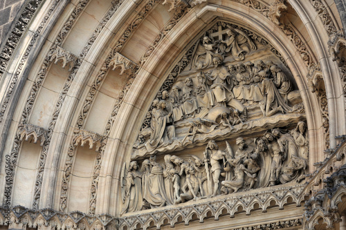 Tympanum of St Peter and St Paul basilica