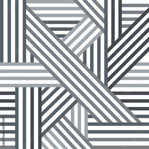 Abstract seamless pattern. Grey lines.