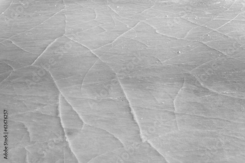 background of ice surface