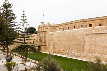 Main Gate city access to Mdina