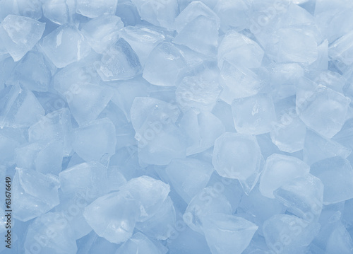 background with ice cubes