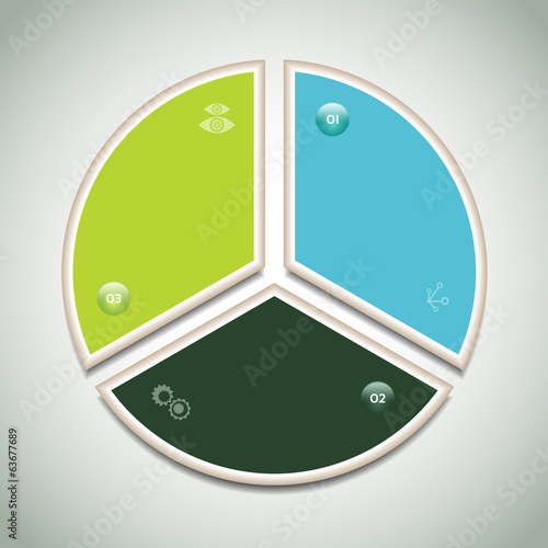 Vector Progress Background / Product Choice or Version.