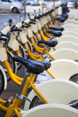 Milan public bicycles