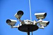 Leinwandbild Motiv caméra de surveillance