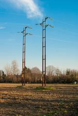 Torre di alta tensione, tralicci