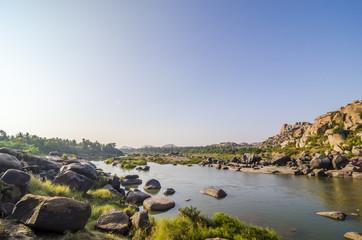 Tungabhadra river near Hampi