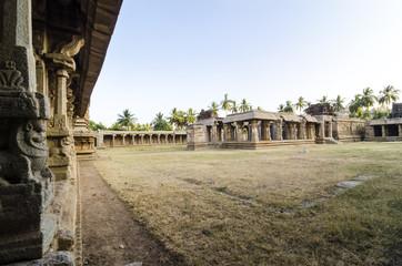Achyutaraya temple in Hampi