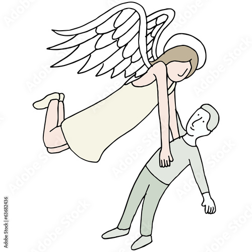 Angel Carrying Spirit
