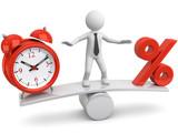 Balance Zeit Zinsen