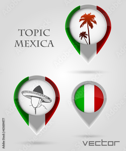 Topic MEXICA Map Marker