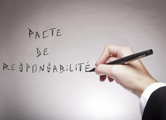 pacte de responsabilité