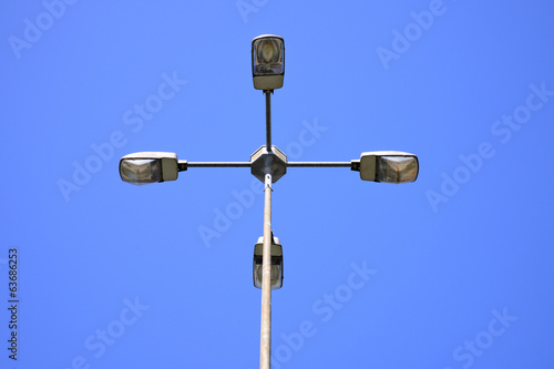 Electric street lamp